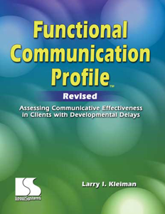 Picture of Functional Communication Profile Revised Test