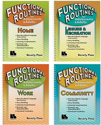 Picture of Functional Routines for Adolescents and Adults - 4 Book Set