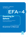 Picture of EFA-4 Diagnostic Form– Examiner Record Booklet (25)
