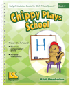 Picture of Book 2 - Chippy Plays School (targets h)