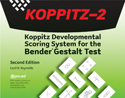 Picture for category Koppitz Developmental Scoring System for the Bender Gestalt Test with Bender Cards(KOPPITZ-2)