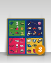 Picture of Literacy Plus Phonological Fun - Set of 3 Tuzzle Talk Games