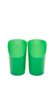 Picture of Cut-Out Cup Green (7oz)