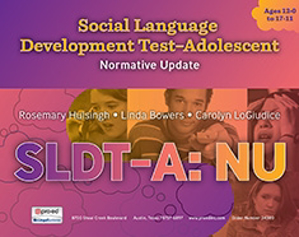 Picture of Social Language Development Test–Adolescent: Normative Update (SLDT-A: NU)
