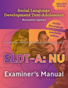 Picture of Social Language Development Test-Adolescent NU Manual