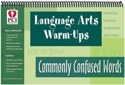 Picture of Language Art's Warm-Ups Comm Confused Words
