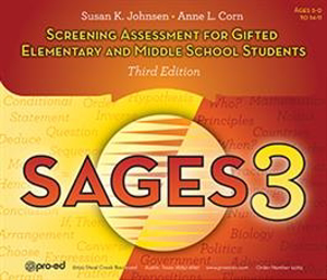 Picture of Screening Assessment for Gifted Elem and Middle School Student (SAGES-3)