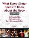 Picture of What Every Singer Needs to Know About the Body, Third Edition