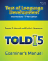 Picture of TOLD-I:5 Examiner's Manual