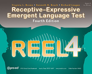 Picture of REEL-4 - Receptive-Expressive Emergent Language Test–Fourth Edition, Complete Kit