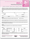 Picture of IDA-2 Health Recording Guide (25)