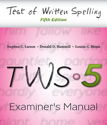 Picture of TWS-5 Examiner's Manual