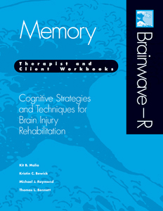 Picture of Brainwave-R:  Memory Module (Therapist and Client Workbooks)