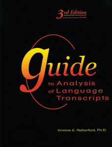Picture of Guide to Analysis of Language Transcripts