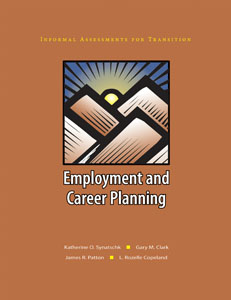 Picture of Informal Assessments for Transition: Employment and Career Planning