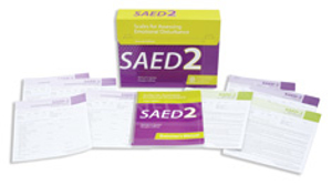 Picture of SAED-2 Developmental/Educational Questionaires (25)