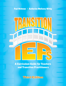 Picture of Transition IEPs: A Curriculum Guide for Teachers