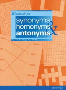 Picture of Workbook for Synonyms, Homonyms and Antonyms