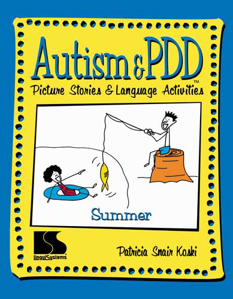 Picture of Autism and PDD Picture Stories and Language Activities - Summer