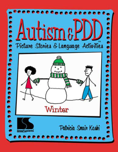 Picture of Autism and PDD Picture Stories and Language Activities - Winter