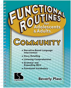 Picture of Functional Routines for Adolescents and Adults - Community Book