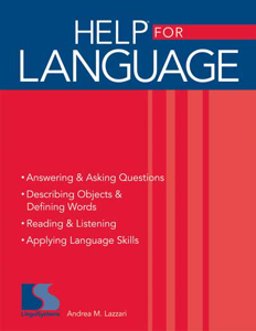 Picture of HELP® for Language Book