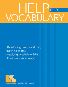 Picture of HELP® for Vocabulary Book