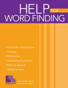 Picture of HELP® for Word Finding Book