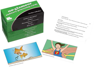 Picture of No Glamour® Auditory Processing Cards