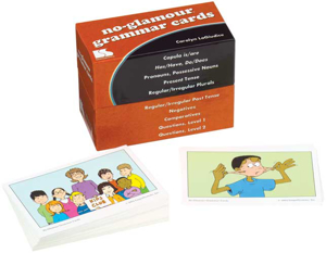 Picture of No Glamour® Grammar Cards