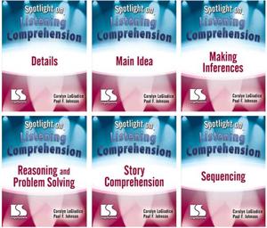 Picture of Spotlight on Listening Comprehension 6 CD Set