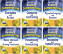 Picture of Spotlight on Reading Comprehension  Complete 6 Book Set