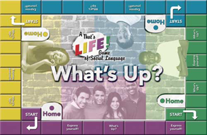 Picture of What's Up? A That's LIFE! Game of Social Language