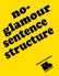 Picture of No Glamour® Sentence Structure Book
