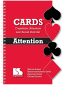 Picture of Cognition, Attention and Recall Drill Set CARDS: Attention