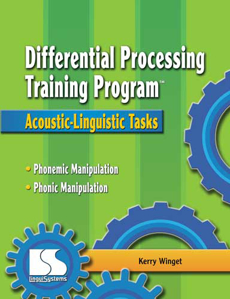 Picture of Differential Processing Training Program: Acoustic-Linguistic Tasks Book