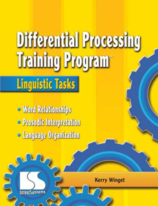 Picture of Differential Processing Training Program: Linguistic Tasks Book