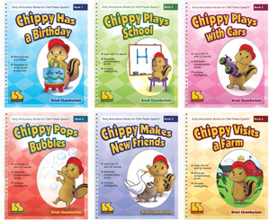 Picture of Early Articulation Books for Cleft Palate Speech 6-Book Set
