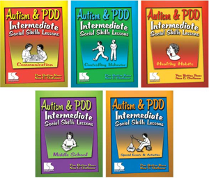 Picture of Autism and PDD: Intermediate Social Skills Lessons 5 Book Set