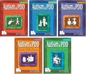Picture of Autism and PDD: Primary Social Skills Lessons 5 Book Set