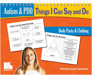 Picture of Autism and PDD: TICSD - Body Parts and Clothing Book