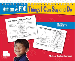 Picture of Autism and PDD: TICSD - Holidays Book