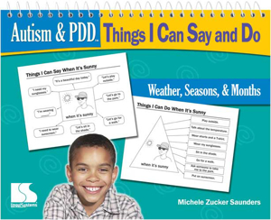 Picture of Autism and PDD: TICSD - Weather Seasons Months Book