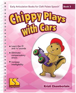 Picture of Book 3 - Chippy Plays With Cars (targets f and v)