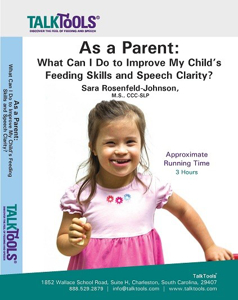 Picture of As a Parent: What Can I Do To Improve My Child's Feeding Skills and Speech Clarity?