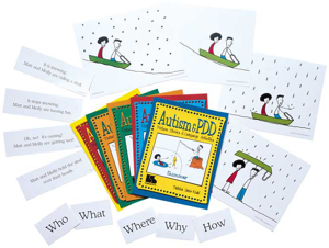 Picture of Autism and PDD Picture Stories and Language Activities 5 Program Set