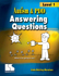 Picture of Autism and PDD:  Answering Questions Level 1 - Book