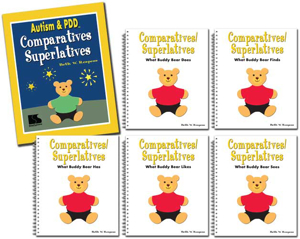 Picture of Autism and PDD: Comparatives/Superlatives - 5 Book Set