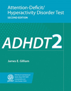 Picture of Attention-Deficit/Hyperactivity Disorder Test–Second Edition (ADHDT-2)