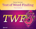 Picture of Test of Word Finding TWF-3